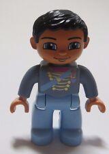 LEGO® DUPLO® Figur Prinz Scherpe Schloß 4820 4821 hellblau Sammlung