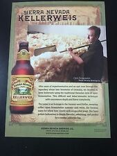 Sierra Nevada Kellerweis Beer Poster From Sierra Nevada Brewery