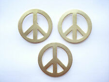 SALE 3 VINTAGE CND PEACE SIGN POLITICAL STOP WAR BAN BOMB PARTY PIN BADGE 99p