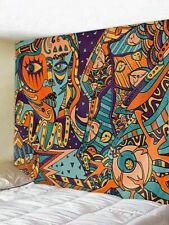 Hippie Mandala Pattern Tapestry Room Bedspread Wall Hanging Psychedlic Tapestry
