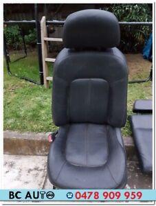 Ford BF Fairlane Ghia Leather Seat Black Airbag 2005 2006 2007 BA Fairmont 2004