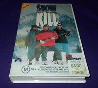 SNOW KILL VHS PAL CIC THOMAS J. WRIGHT TERENCE KNOX snowkill