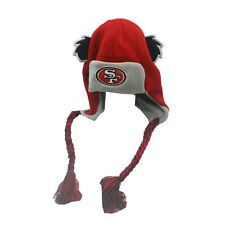 San Francisco 49ers Official NFL Kids Boys (4-7) OSFM Mascot Winter Hat Cap New
