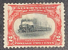 Travelstamps: 1901 US Stamps Scott #295, Fast Express Mint NG 2 cent