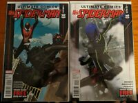Ultimate Comics All-New Spider-Man #9 And #10 Marvel VF/NM Comics Book