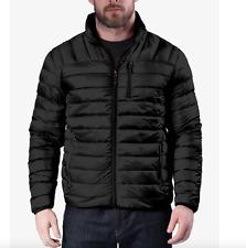 Hawke & Co 14100 Men's Black Packable Down Jacket Sz Medium