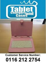 Pink USB Keyboard Carry Case/Stand for 16.9 Widescreen Go Tab Lite Tablet
