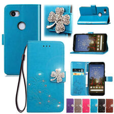For Google Pixel 4A 4 XL 3A XL 3 XL 2 XL Glitter Magnetic Leather Wallet Cover