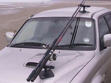 VAC:RAC Combi Vacuum + Magnetic Fishing Rod Car Holders Holds up to 4 Rods