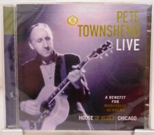 Pete Townshend from The Who + 2 CD Set + LIVE + A Benefit for Maryville Academy