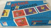 Arthur's Dominoes for Children by Great American Puzzle Factory 1996 Complete