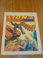 LION & THUNDER 12TH MAY 1973 BRITISH WEEKLY COMIC FLEETWAY^