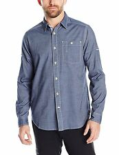 Gramicci Men's Messenger Shirt - Blue - Size XL - New With Tags