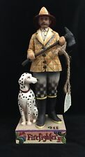 Jim Shore FIREFIGHTER With Dalmatian Dog 4007231 Issued 2006 Heartwood Creek
