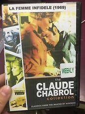 La Femme Infidele ex-rental DVD (1969 Claude Chabrol French movie) * rare *
