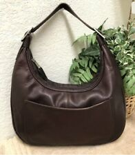 Vintage Latico Brown Colombian Leather Handbag Shoulder Bag Adjustable Strap VGC