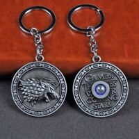 Game of thrones juego de tronos key chain stark llavero