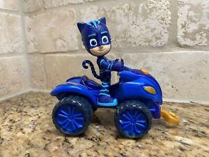PJ MASKS Catboy  action figure + SUPER MOON ADVENTURE SPACE ROVER BIKE , HTF