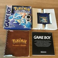 Pokemon Blue Version Nintendo Game Boy Boxed & Complete - FAST POST