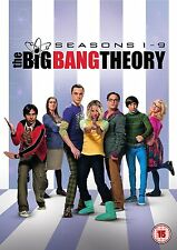 The Big Bang Theory Series Complete seasons  1-9 New DVD Box Set Region 2 / 4