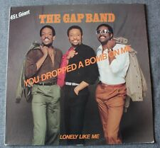 The Gap Band, you dropped a bomb on me / lonely like me, Maxi Vinyl