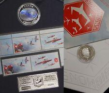 Canada 2006 Royal Canadien Mint Forces Snowbirds Timbre et Pièce de Monnaie Lot