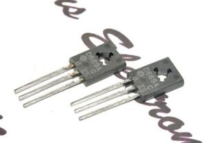 2pcs - HITACHI 2SD669A / D669A Transistor- NOS