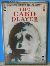 The Card Player (DVD 2005) RARE DARIO ARGENTO HORROR MYSTERY THRILLER BRAND NEW