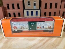 Lionel 2012 Christmas Box Car Made in USA 6-29976 C-9