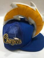 LA Chargers Hat San Diego Los Angeles Vintage RARE 80's NEW NWT Snapback Tru
