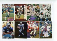 Lot cartes NFL Foot US Jon Kitna Seahawks Football Americain