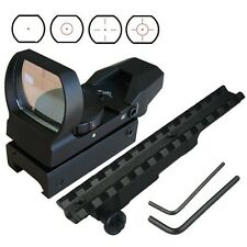 Tactical 4 Reticle Red Dot Sight and Mauser K98 Scope Mount RD-D001R+MT-K98