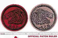 Old BSA -  FELT Patrol Patch - TIGER - 1940s Era - B & W Threads Back