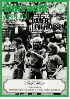 BL 81/82 Eintracht Braunschweig - Bayer 04 Leverkusen