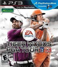 New: Tiger Woods PGA TOUR 13 - Playstation 3: PlayStation 3, PlayStation 3 Video