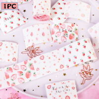 Cute Strawberry Memo Pad Sticky Notes Paper Stickers Notepad Kawaii Stationery