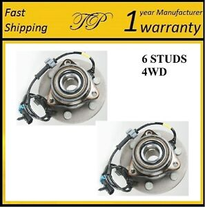FRONT Wheel Hub Bearing Assembly For 2003-2006 CADILLAC ESCALADE ESV (4WD) PAIR