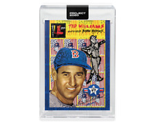 Topps PROJECT 2020 Card 345 - 1954 Ted Williams by Gregory Siff