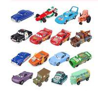 Disney Pixar Cars Lightning McQueen Jackson Storm Mater Diecast Metal Toys Gift