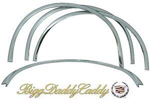 Cadillac DTS 06 07 08 09 10 11 FENDER LIP MOLDING FENDER TRIM! FULL COVERAGE!