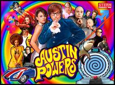 Austin Powers Pinball Alternate Translite (2 Versions to choose from!)