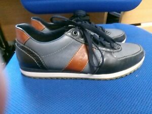 Reiker blue & tan trainers size 7.5/41
