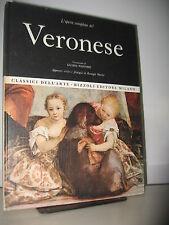 VERONESE  - OPERA COMPLETA RIZZOLI - CLASSICI DELL'ARTE 1968 I