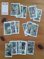 Card Collectors Society Full Repro Set of 50 Wills - Flowering Trees & Shrubs