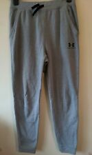 Under Armour size s Grey Fitted Joggers Tracksuit Bottoms