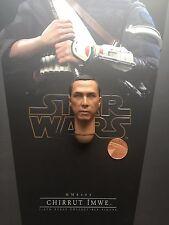 """HOT Toys Star Wars Rogue One chirrut imwe 12"""" Head Sculpt Locker 1/6th Maßstab"""