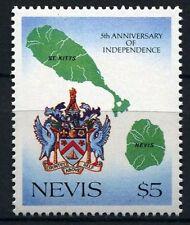 Nevis 1988 5°anniv indipendenza 495  mnh