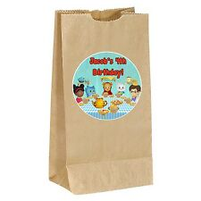Daniel Tiger birthday PERSONALIZED Sticker Labels - goody bag, loot, party