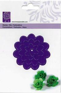 Stanz-schablone Cutting die 3D-Blume Rose Roll up roses Wickel Cart-Us 18560136
