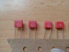 10 diapositives-condensateurs 100 nF 250 V AXIAL